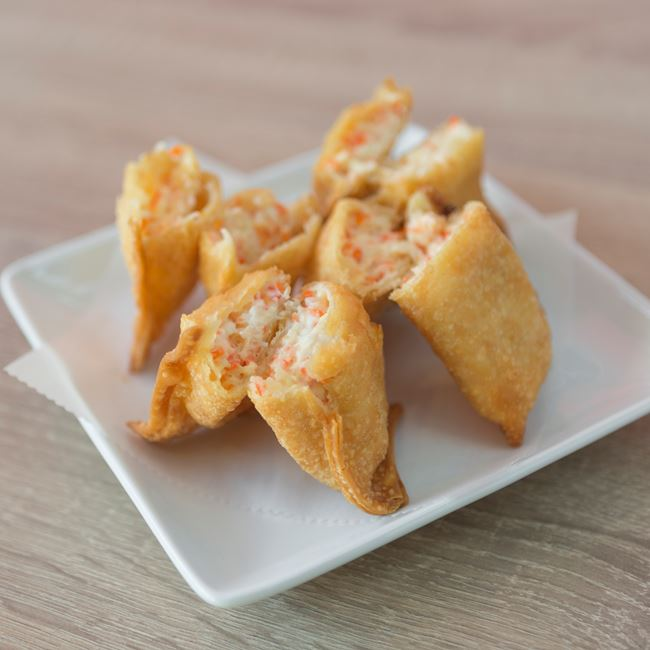 Crab Rangoon at Sushi Express