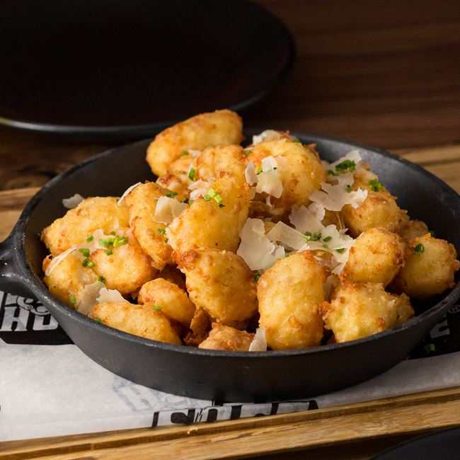 Fried C4 Cheese Curds at SafeHouse