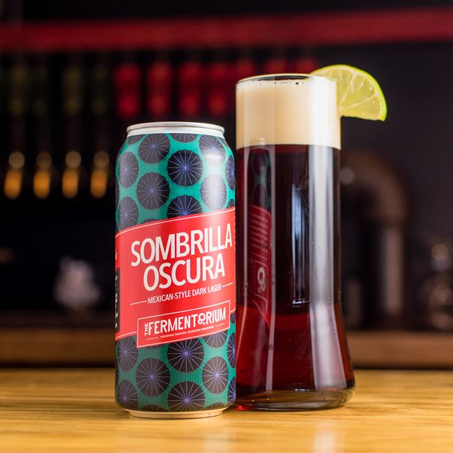 Sombrilla Oscura at The Fermentorium Brewery and Tasting Room