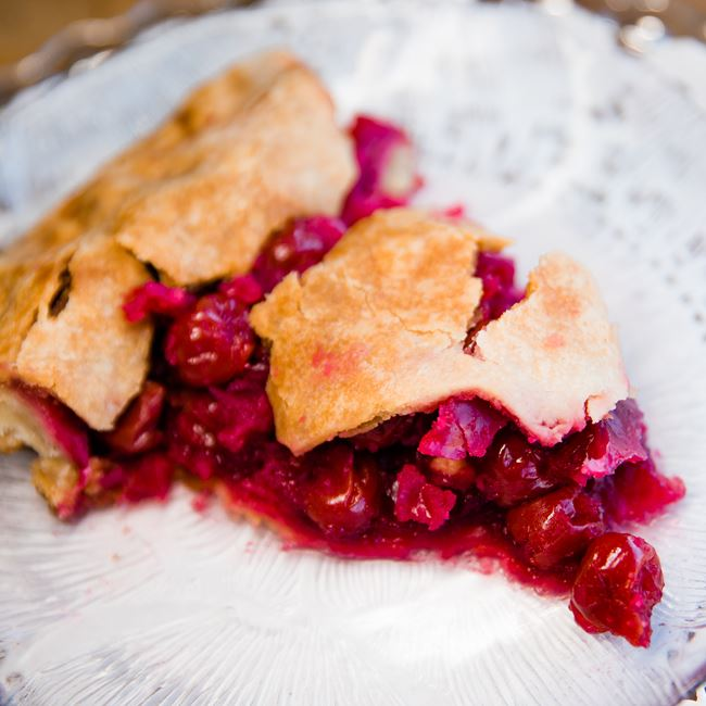 Cherry Pie at Pink Bakery & Pink Bakery Catering