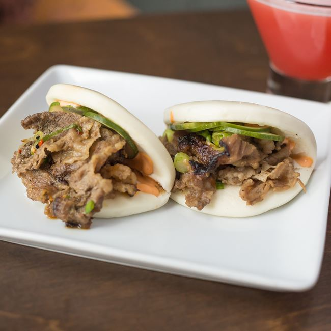 Beef Buns at Umami Ramen & Dumpling Bar