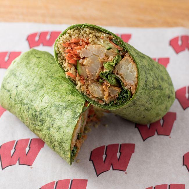 Buffalo Cauliflower Wrap at 126 Concessions