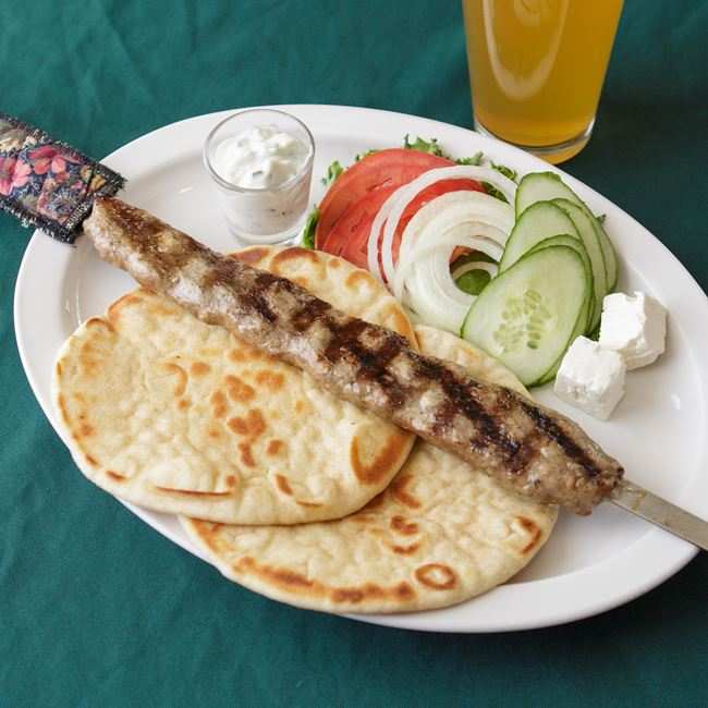 Turkish Kabob at Shamrock Pub-n-Eatery
