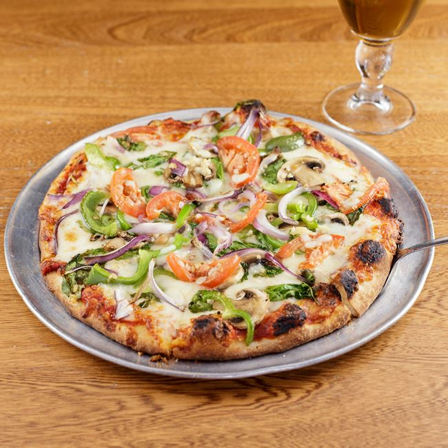 The Freshtable Pizza at Cranky Al's
