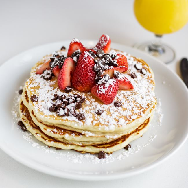 Buttermilk Pancakes at Bassett Street Brunch Club