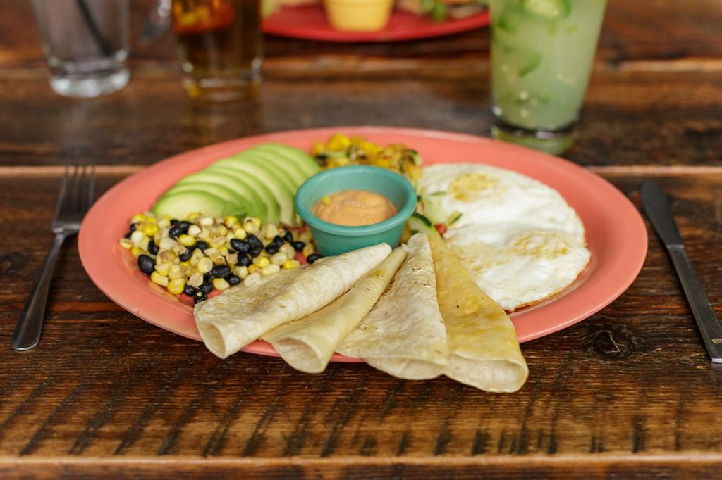 Surfer breakfast - $7 77 - BelAir Cantina - Food Photos - hankr