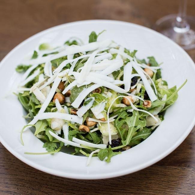 Shaved Brussels Sprout Salad at Pizza Man