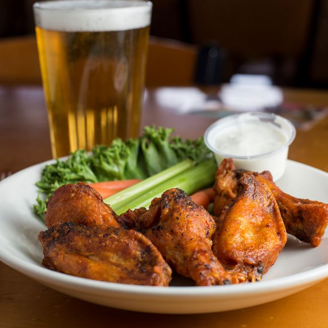 Chicken Wings at Husby's Food & Spirits