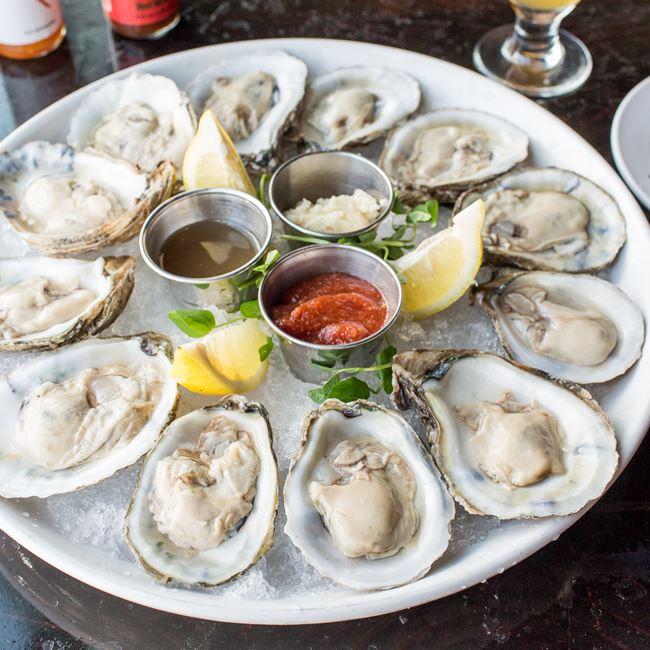 Oysters at Block & Larder