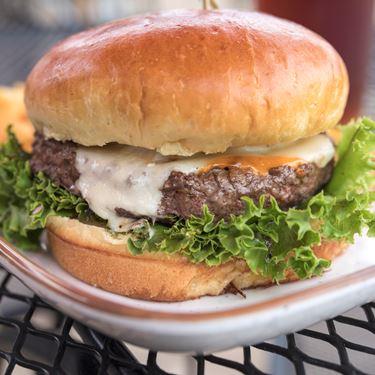 Bam Bam Cheese Curd Burger