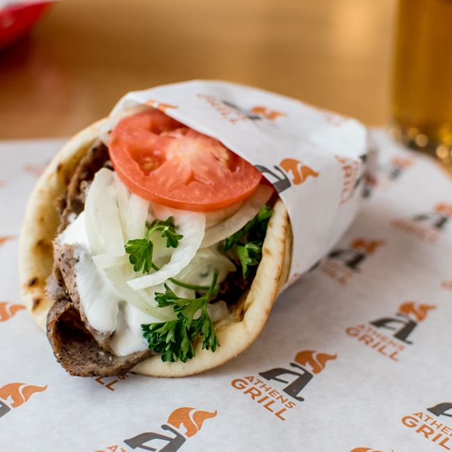 Classic Gyro at Athens Grill