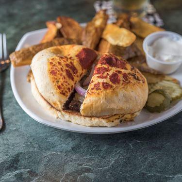 Bonnie or Clyde Burger