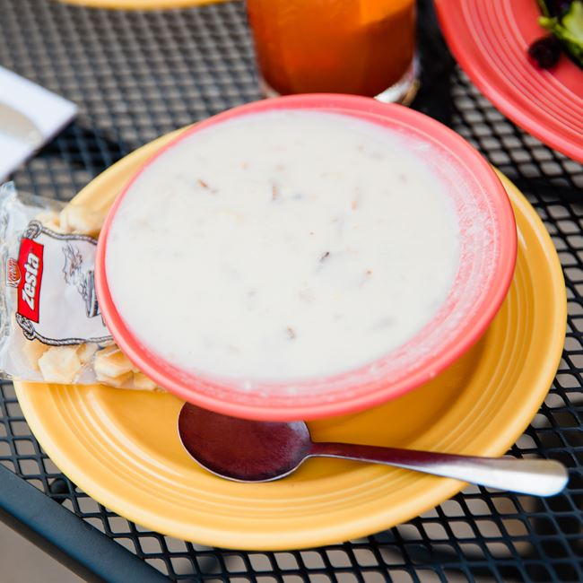 Homemade Chowder at The Viking Grill and Lounge