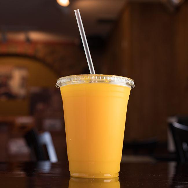 Mango Juice at Mamoun's Falafel Restaurant