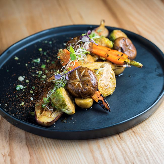 Veggie Platter at Char'd