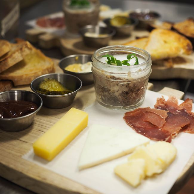 Cheese & Charcuterie Board at Graze