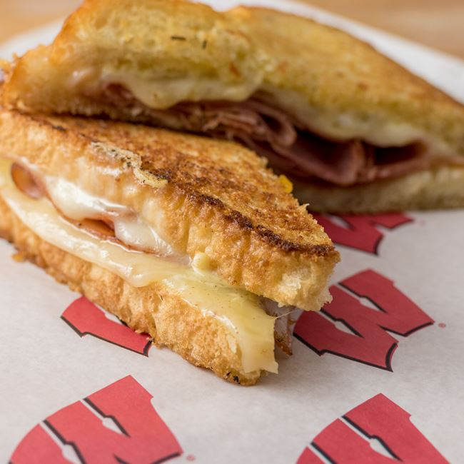 Gridiron Grilled Hot Ham and Cheese at Grill X3