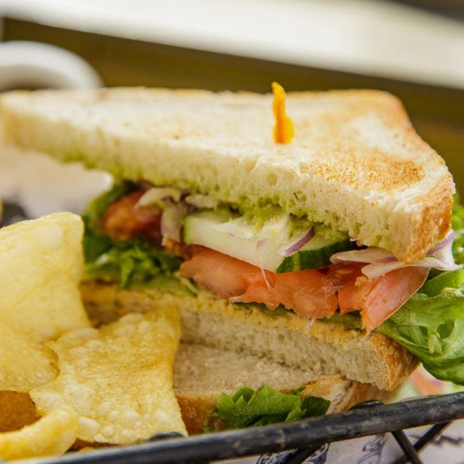 Garden Harvest Sandwich at Colectivo Coffee