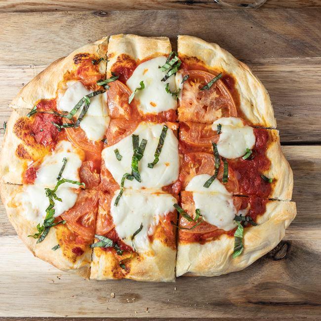 Classic Margherita Pizza at Granary