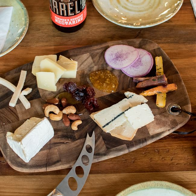 Cheese Board at Longtable Beer Cafe