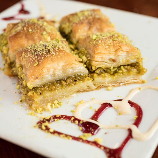 Baklava at Efes Mediterranean Grill