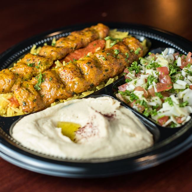 Chicken Koobideh Entree at Shawarma House