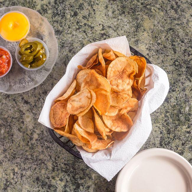 Homemade Potato Chips at Tomaso's