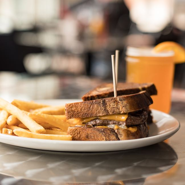 Patty Melt at The District Pub & Grill