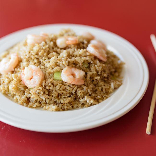 Shrimp Fried Rice at Chan Garden