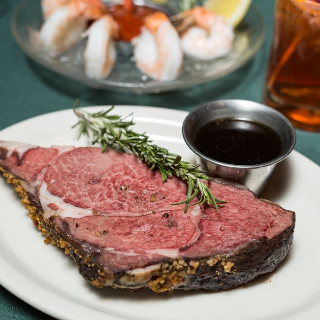 Prime Rib at Norwood Pines Supper Club