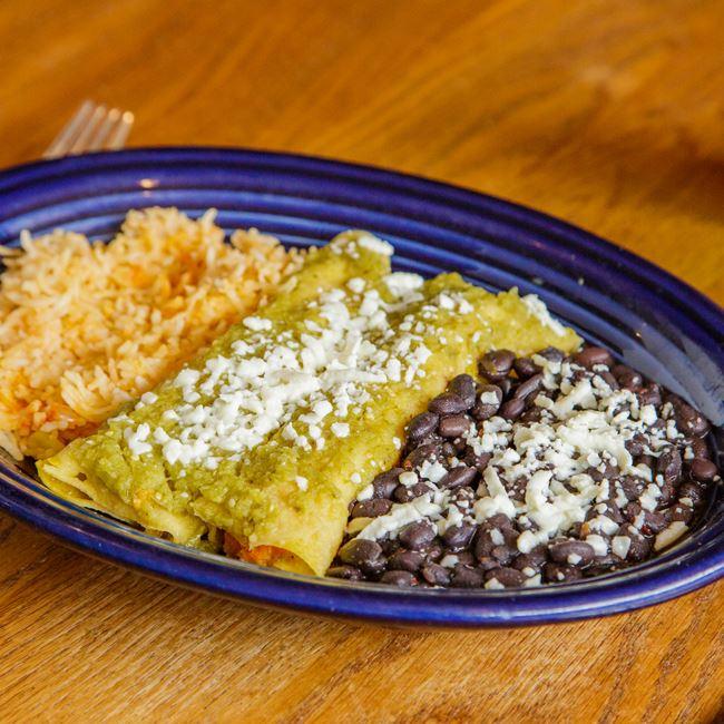 Sweet Potato Enchiladas at Tex Tubb's Taco Palace