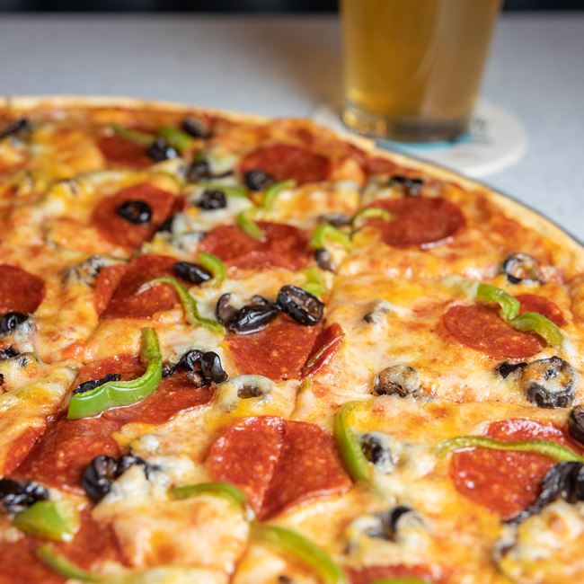 Build Your Own Pizza at West End Pizza