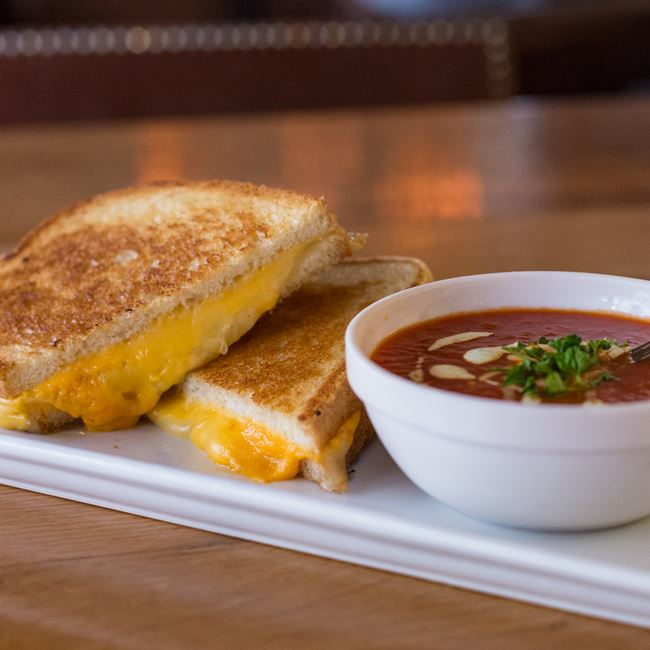 Pub-Style Grilled Cheese at Miller Time Pub & Grill