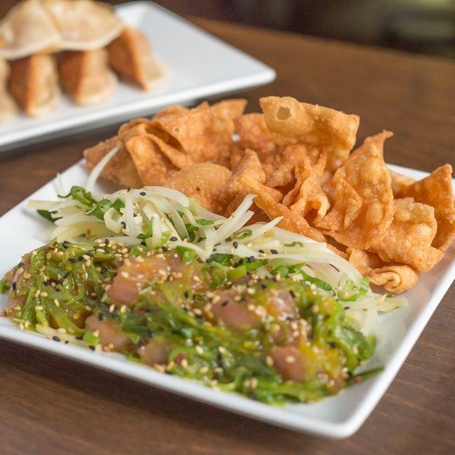 Tuna Poke at Umami Ramen & Dumpling Bar