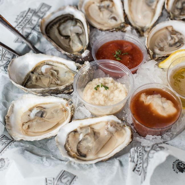 Oysters of the Day at St. Paul Fish Company