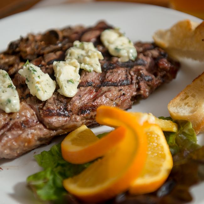 Grilled Ribeye at Island Fever Rum Bar & Grill