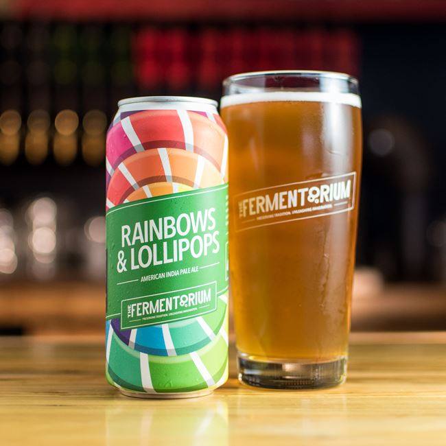 Rainbows and Lollipops IPA at The Fermentorium Brewery and Tasting Room