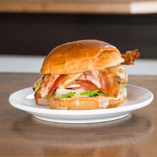 California Grilled Chicken Club Sandwich at Stilt House Gastro Bar