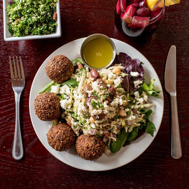 The Banzo Salad at Banzo