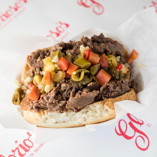 Italian Beef Sandwich at Glorioso's Italian Market