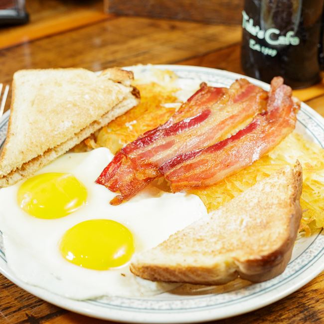 Classic Egg Breakfast at Tula's Café