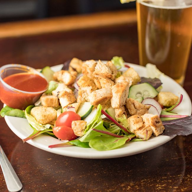 Grilled Chicken Salad at Girolamo's Court'n House Bar & Grill