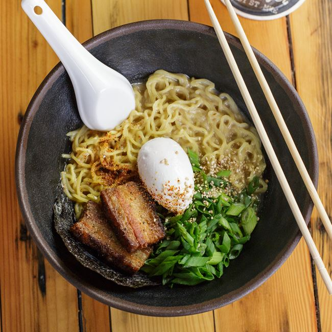Pork Miso Ramen at Easy Tyger