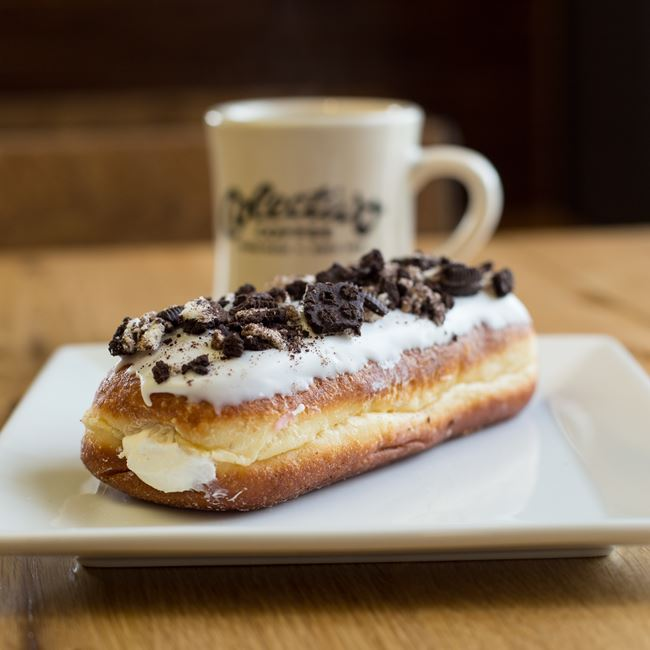 Cookies and Cream Doughnut at Metcalfe's Market