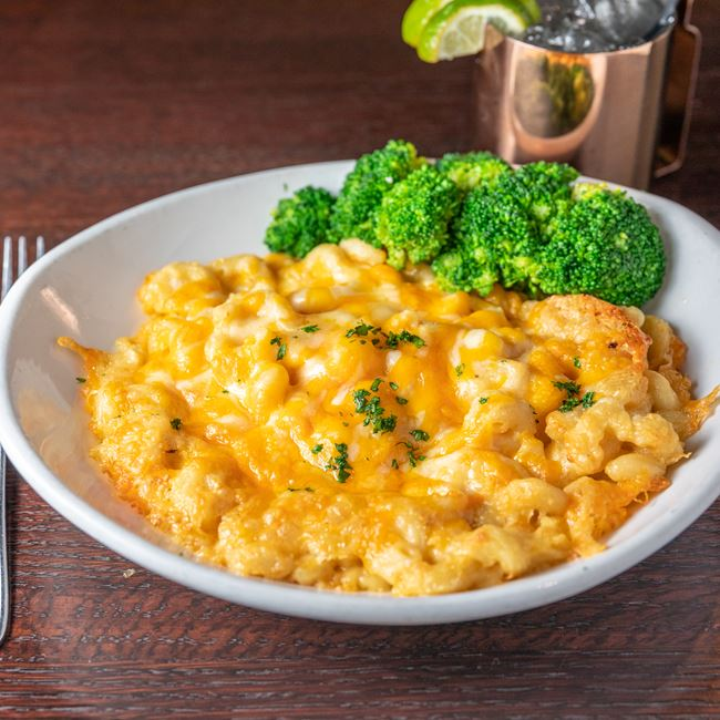Homemade 5-Cheese Mac at Mahoney's Restaurant and Bar