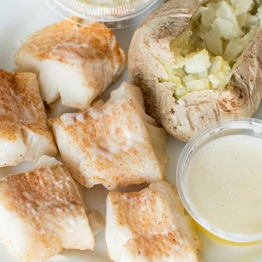 Baked Cod Fish Fry