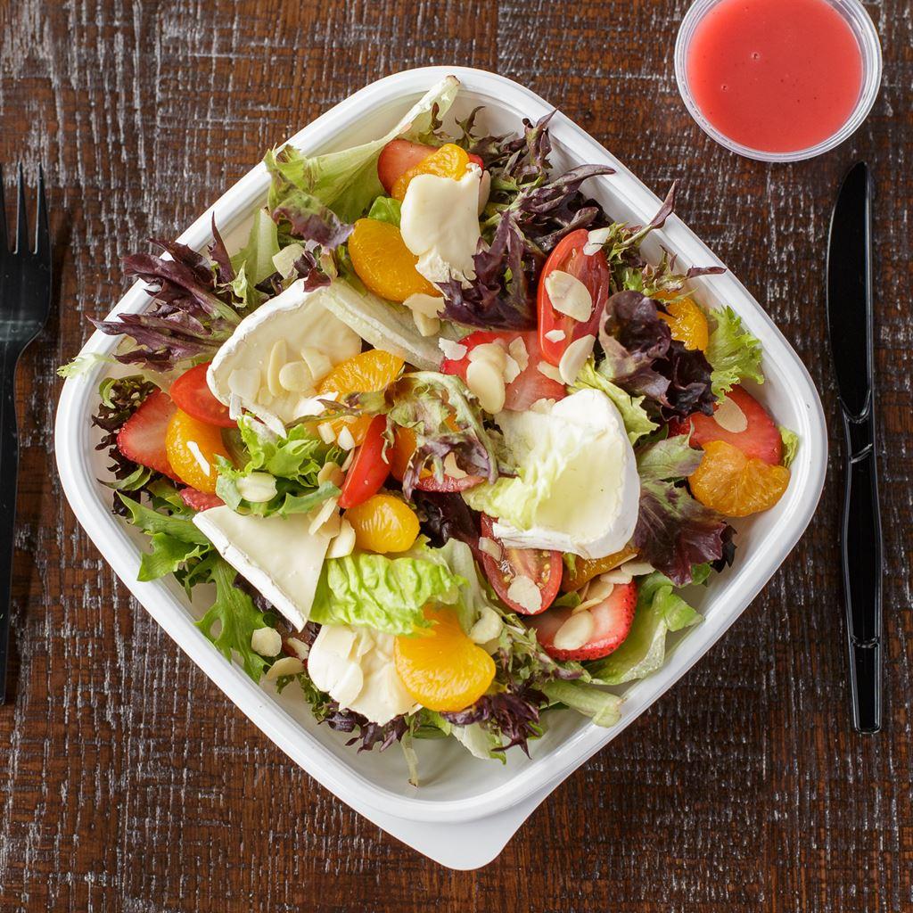 brie and mandarin salad