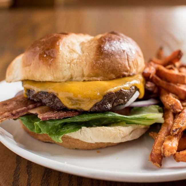 Angus Burger at C. Wiesler's Saloon & Eatery