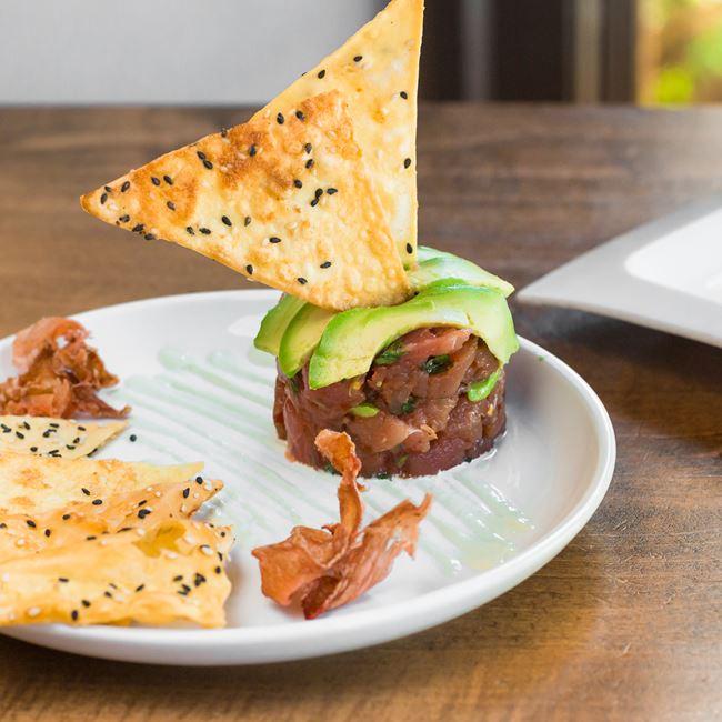 Tuna Tartare at Stilt House Gastro Bar