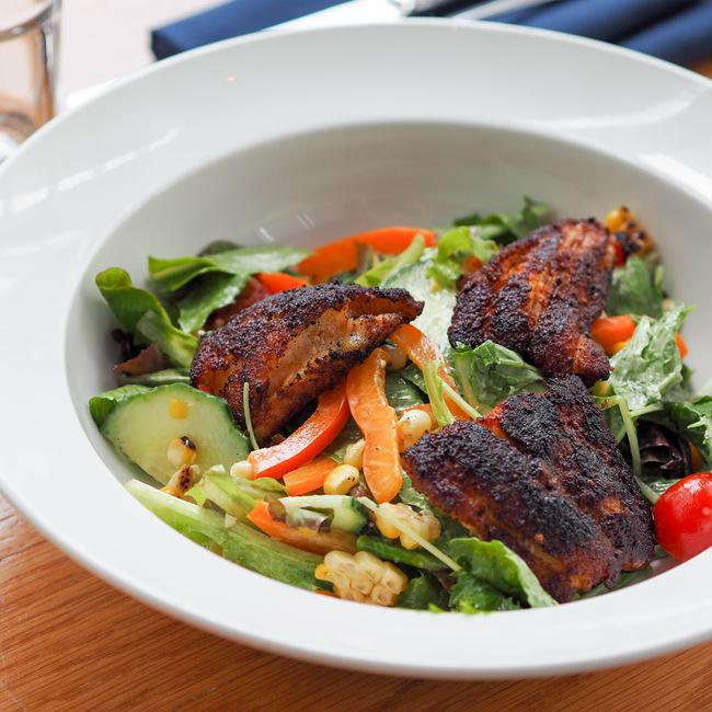 Blackened Catfish Salad
